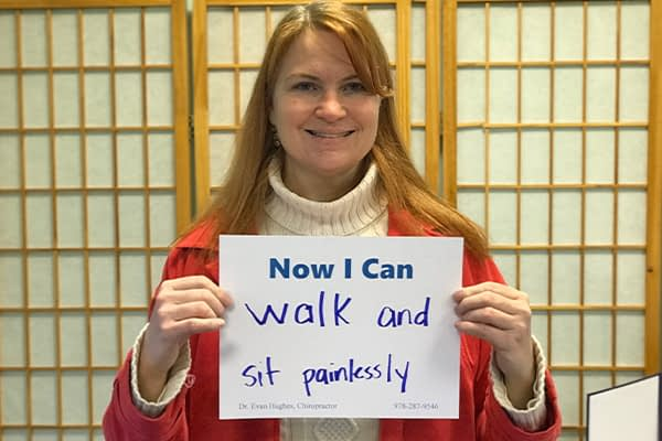 Walk and Sit Painlessly