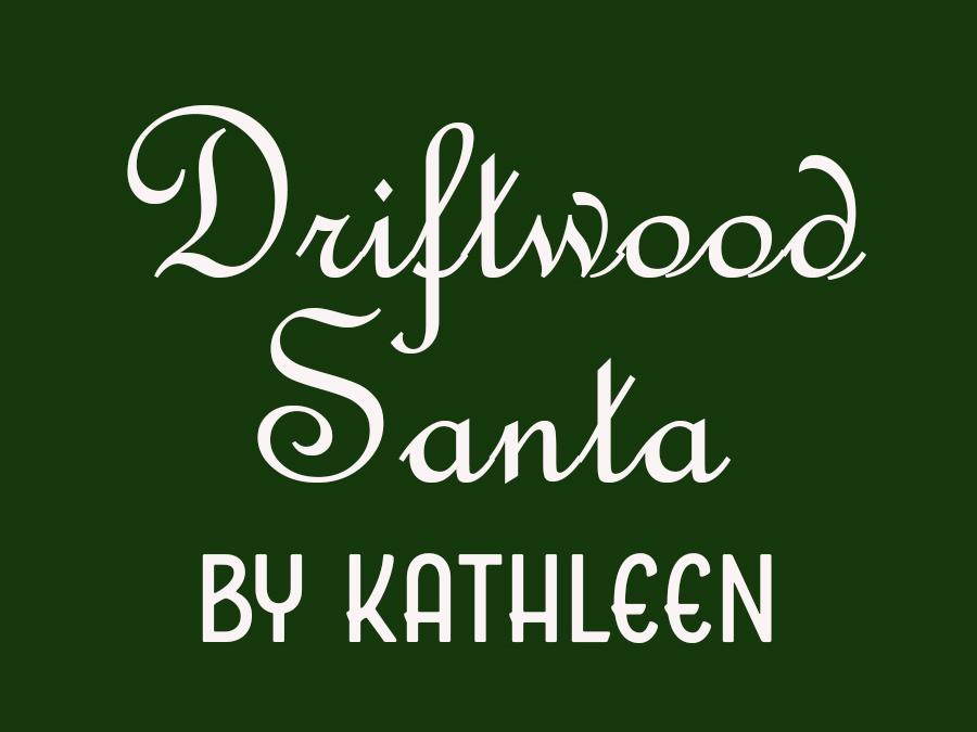 Driftwood Santa by Kathleen